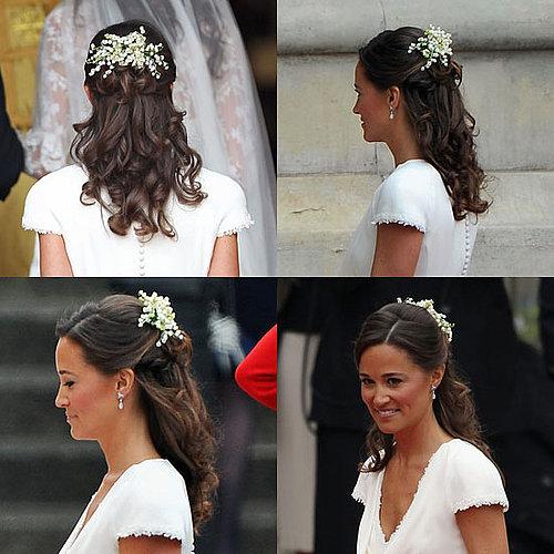 Pippa Middleton Royal Wedding Hair