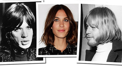 Alexa Chung's Hair is Inspired by Mike Jagger