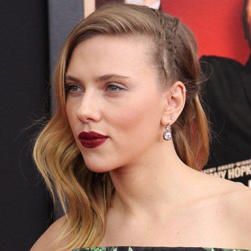 Sideswept Celebrity Hair