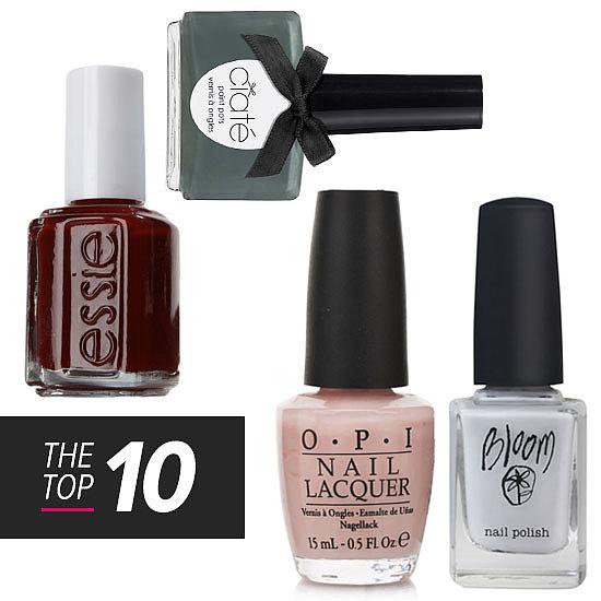 10 Pedicure Appropriate Nail Polish Colours