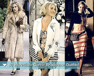 Celebrate Sarah Jessica Parker's 47th Birthday By Scoping 60 of Carrie Bradshaw's Best Fashion Moments from Sex and the City!