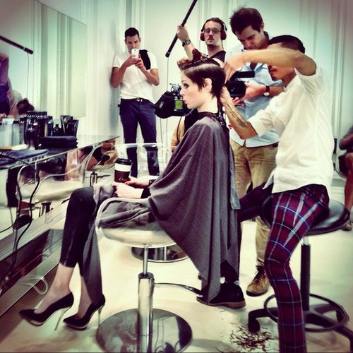 Coco Rocha Cuts Her Hair Into a Pixie Cut on Instagram